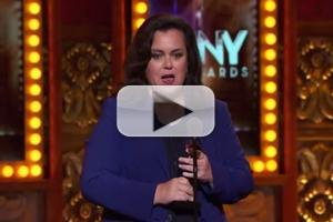 STAGE TUBE: Rosie O'Donnell Speech for Best Featured Actress? Wait, What?