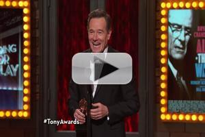 STAGE TUBE: Acceptance Speech Highlights II: Sophie Okonedo, Bryan Cranston, JRB
