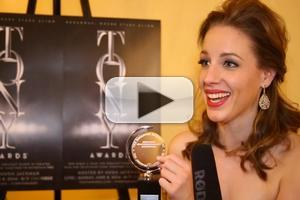BWW TV: Best Leading Actress Jessie Mueller Reacts to Her Tony Win!