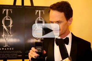 BWW TV: Neil Patrick Harris Gushes Over HEDWIG's Tony Wins!