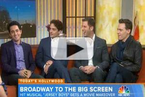 VIDEO: Stars of JERSEY BOYS Film Visit NBC's Today