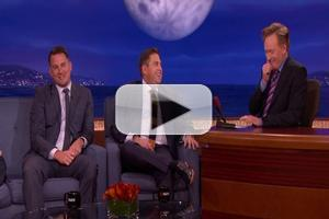 VIDEO: Channing Tatum Reveals X-Rated Bet with Jonah Hill on Tonight's CONAN