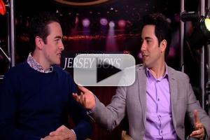 BWW TV: Meet the JERSEY BOYS- Chatting with John Lloyd Young & Vincent Piazza