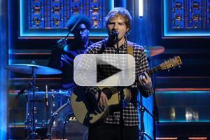 VIDEO: Ed Sheeran Performs 'Sing' on TONIGHT SHOW