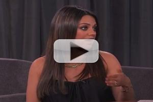 VIDEO: Mila Kunis Explains Why She's Against Men Saying 'We Are Pregnant' on JIMMY KIMMEL