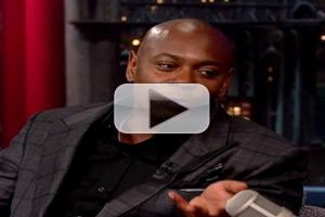 VIDEO: Dave Chappelle Explains Why He Quit His Hit Comedy Show on LETTERMAN