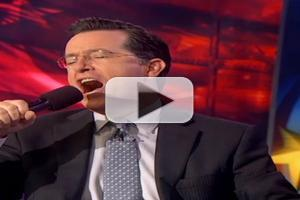 VIDEO: Stephen Croons for the NY Rangers on COLBERT REPORT