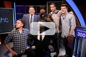 VIDEO: 22 JUMP STREETS's Channing Tatum, Jonah Hill Visit Comedy Central's @MIDNIGHT