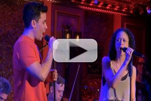 BWW TV Exclusive: CUTTING-EDGE COMPOSERS CORNER-   Conrad Riccamora and Amber Gray Sing Jones & Rno's 'As Beautiful'