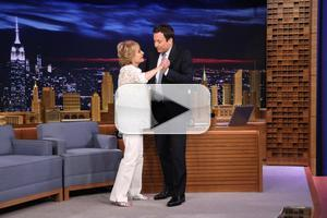VIDEO: Barbara Walters Talks Retirement & More on JIMMY FALLON