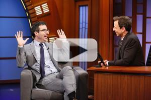 VIDEO: John Oliver Talks 'Emotional Minefield' of Doing a Weekly Show on LATE NIGHT