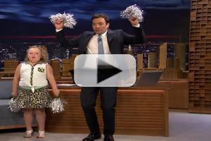 VIDEO: Honey Boo Boo Teaches JIMMY FALLON Her Cheerleading Moves