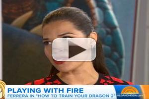 VIDEO: America Ferrara Talks 'How to Train Your Dragon' on TODAY