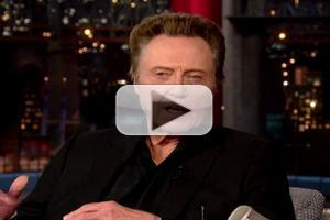 VIDEO: JERSEY BOYS Christopher Walken Talks Working with Clint Eastwood on 'Letterman'
