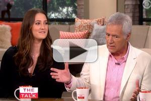 VIDEO: Alex Trebek Stops By 'Who's Your Daddy? Week on THE TALK
