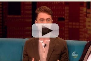 VIDEO: Daniel Radcliffe Talks 'Cripple of Inishmaan' on THE VIEW