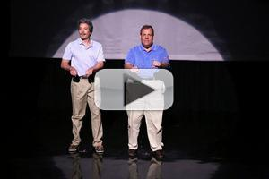 VIDEO: Gov. Christie & Jimmy Fallon Present 'The Evolution of Dad Dancing' on TONIGHT