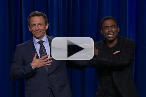 VIDEO: Chris Rock Crashes Seth's Opening Monologue on LATE NIGHT