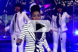 VIDEO: Janelle Monae Performs 'Heroes' on DAVID LETTERMAN