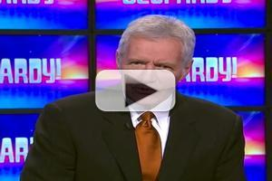 VIDEO: JEOPARDY's Alex Trebek Breaks Guinness World Record