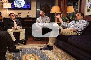 VIDEO: Jonah Hill, Channing Tatum & Ice Cube Play 'Sup' on FALLON