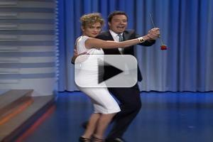 VIDEO: Jennifer Lopez & Jimmy Fallon Have Their Dance on TONIGHT
