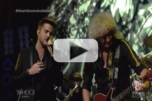 VIDEO: Adam Lambert & Queen Perform 'Love Kills' at iHeartRadio Live Show