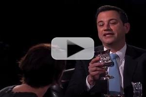 VIDEO: JIMMY KIMMEL Has Drunken Battle with 'Game of Thrones' Star Lena Headey