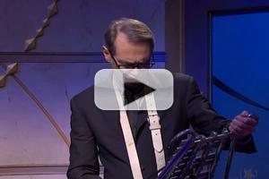 VIDEO: Steve Buscemi Joins the LATE NIGHT Band on the Glockenspiel