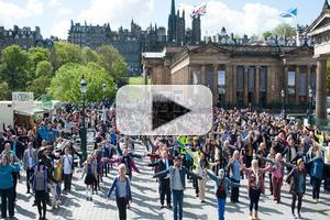 STAGE TUBE: 'I'm gonna be' de AMANECE EN EDIMBURGO