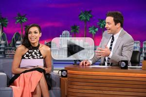 VIDEO: Rosario Dawson Talks New Film 'Sin City' on TONIGHT SHOW
