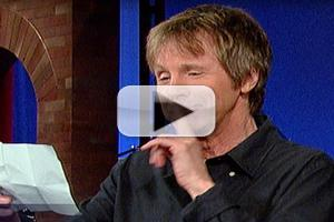 VIDEO: Dana Carvey Channels Johnny Carson's 'Carnac the Magnificent' on LETTERMAN