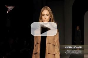 VIDEO: Andrea Incontri Milan Fashion Week
