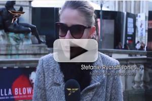 VIDEO: Danielle Romeril Talks Fashion During London Fashion Week