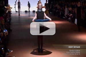 VIDEO: Issey Miyake Ready to Wear Paris Fashion