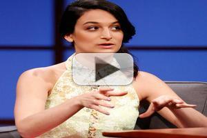 VIDEO: Jenny Slate Talks New Film 'Obvious Child' on LATE NIGHT