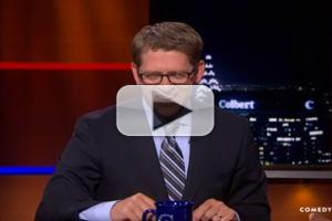 VIDEO: Press Secretary Jay Carney Says Press Briefing Has Become More Like Theater on COLBERT