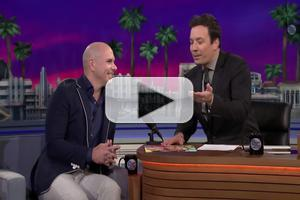 VIDEO: Pitbull Discusses His Unique Fashion on FALLON