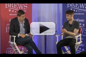 STAGE TUBE: THE CRIPPLE OF INISHMAAN's Daniel Radcliffe Talks Broadway, Harry Potter and More