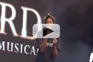 STAGE TUBE: Alexandra Burke Performs THE BODYGUARD's Hits at WEST END LIVE!