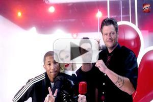 VIDEO: 'Hollaback' - New Promo for THE VOICE with New Coaches Gwen Stefani & Pharrell Williams