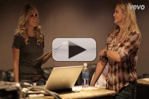 VIDEO: Behind-the-Scenes of Carrie Underwood and Miranda Lambert's 'Somethin' Bad' Recording Session