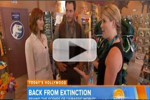 VIDEO: Chris Pratt Takes TODAY Behind-the-Scenes of New Film JURASSIC WORLD