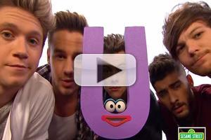 VIDEO: First Look - ONE DIRECTION Sings Their ABC's on Sesame Street!