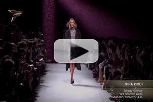 VIDEO: Nina Ricci RTW Paris Fashion Week