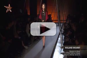 VIDEO: Fashion Week Roland Mouret Autumn Winter 2014 15
