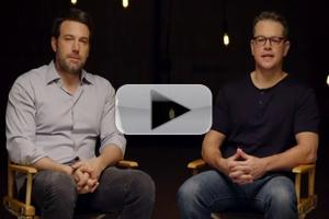 VIDEO: Matt Damon & Ben Affleck in Promo for HBO's PROJECT GREENLIGHT