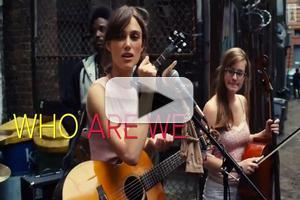 VIDEO: First Look - Keira Knightley Performs 'Lost Stars' in New Film BEGIN AGAIN