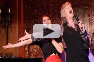 BWW TV: Inside Jane Lynch's 54 Debut with Kate Flannery and Cheyenne Jackson!