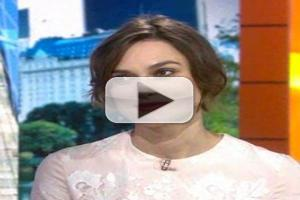 VIDEO: BEGIN AGAIN's Keira Knightley Reveals: 'I Do Sing in the Shower'